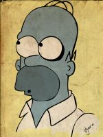 homer simpson final version by skaRface6