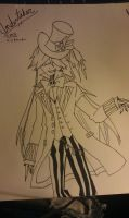Undertaker as Mad Hatter by AnimeGamerNerd4Life
