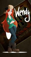 Gravity Falls Wendy by Free-man12
