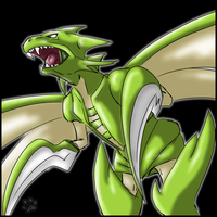 No.123 Scyther by jesslyra
