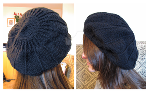 slouchy beret by gizemko3