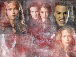 Blood Ties Wallpaper by VampiressBella