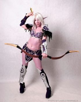 Nightelf - World of Warcraft by YurikoSeira