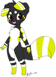 Bumblebee dog Adopt -closed- by WolfytheCorsky
