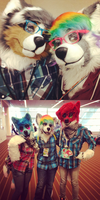 Doe Suiters at Anthrocon 2013 by aisu-isme