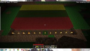 Minecraft: Lithuanian Flag by Black-as-Death