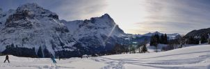 Grindelwald - Panorama by dunkeltoy