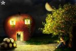 dream apple house by rabikinetli