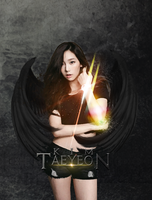 SNSD Taeyeon - Dark Angel by ExoticGeneration21
