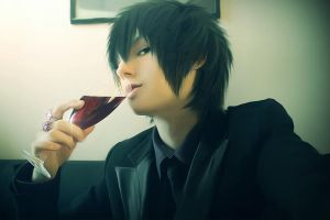 KHR :: Hibari - Taste of Blood by Black--Deamon