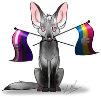 Sexuality-Gender Flag Chibi: Unnamed~ by ScottishRedWolf