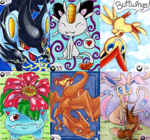 Pokemon Art Cards - Batch 6 by Nestly