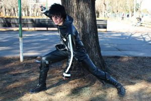 Cosplay Black Rock Shooter Kaito by Ema2220
