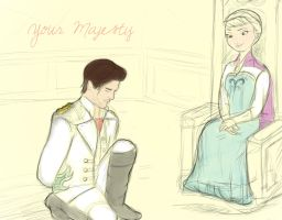 Prince Georg meets Elsa by Ever-everafter