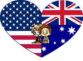 AmeAustra Shimeji Heart by LadyAxis