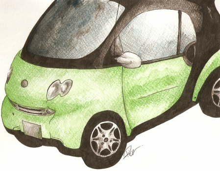 Smart Car by GeneralAster