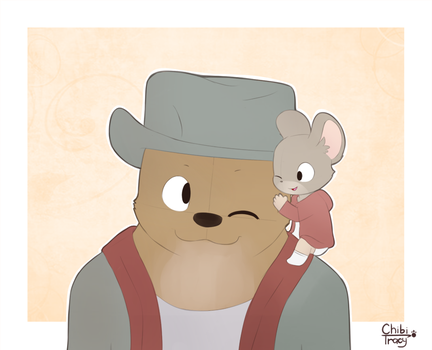 Ernest and Celestine by Sunnynoga