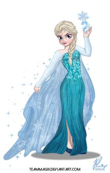 The Snow Queen by teammagix