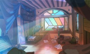ABRAXAS: Bird's bedroom by painted-bees