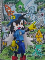 Klonoa In Sonic Colors by emichaca