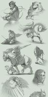 Sketch Compilation 1Q2013 by Lizkay