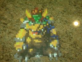 Bowser Bead Sprite by WickedAwesomeMario81