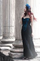 Gothic in Blue by RahLuna