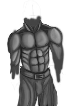 Body Study (WiP) by TheCondemnedArtist