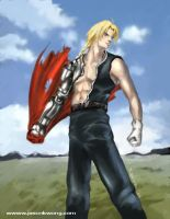 FMA - Edward Elric by Ravis