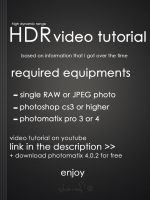 HDR tutorial by Honestheart26