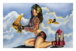 Rockette color by wasleeper