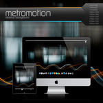 Metromotion Desktop Background by Bonvallet