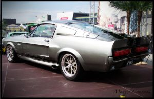 1968 Shelby      GT500E by compaan-art