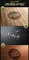 Photorealistic Logo Mock-Up Pack 2 by carlosnance
