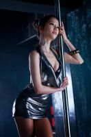 Han Min Young Sexy Model Stripper Pole by Race-Queen