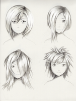 Female hairstyle practice 4 by ShenGoDo