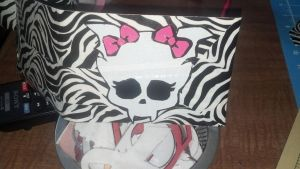 draculaura duct tape wallet by Fairygirl1031