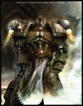 black saints chaos marine by kynthillis