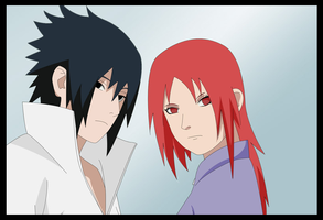 sasuke x karin by nighty-san by SasukexKarin