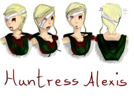 Huntress Alexis by Yinxabell