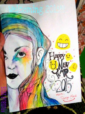 WELCOMING 2015!!!!!! by Tudalia