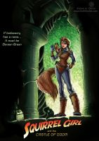 Squirrel Girl and the Castle of Doom by TheCreationist