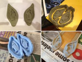 Raziel Mask - Making the Ears by SketchMcDraw