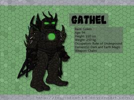 Signature Villain - Gathel by Leonidash15