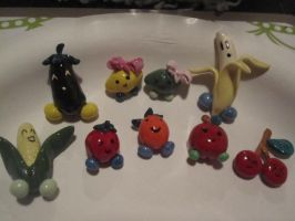Fruits and Veggies Magnets by SugiAi