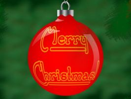 Ornament Christmas Card by Sidneys1