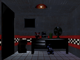 Freddy's Nightmare Diner (office) DO NOT STEAL by TheIrishKnight111