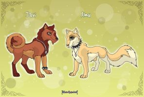 New OC's: Javi and Almu by MySweetQueen
