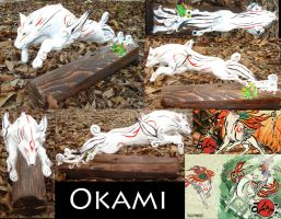 Compliation Okami Sculpture by Clinkorz