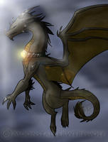 Dragon by MoonstalkerWerewolf